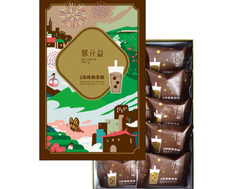 台灣珍珠奶茶酥