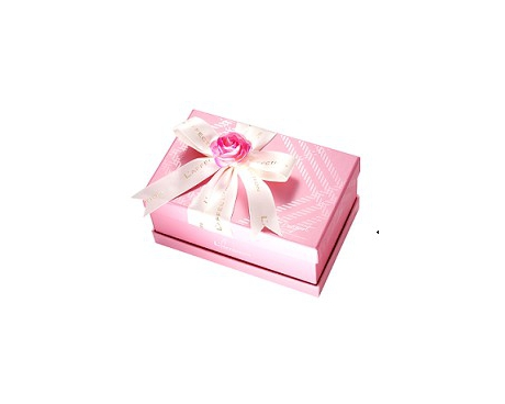 玫瑰花盒-粉紅