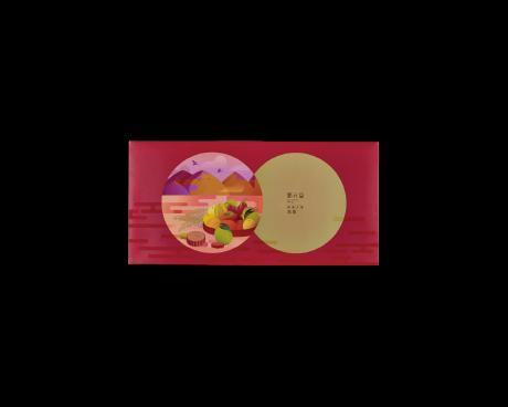 錦繡月圓-花彩